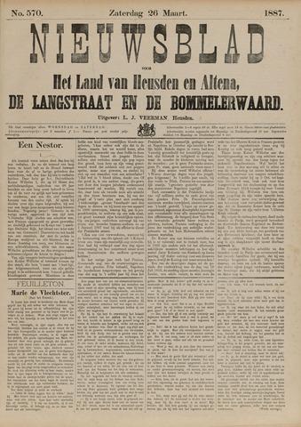 Nieuwsblad het land van Heusden en Altena de Langstraat en de Bommelerwaard 1887-03-26