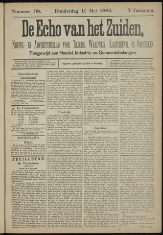 Echo van het Zuiden 1882-05-11
