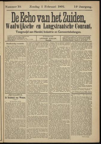 Echo van het Zuiden 1891-02-01