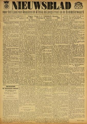 Nieuwsblad het land van Heusden en Altena de Langstraat en de Bommelerwaard 1927-08-24