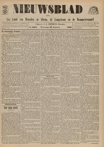 Nieuwsblad het land van Heusden en Altena de Langstraat en de Bommelerwaard 1906-08-29