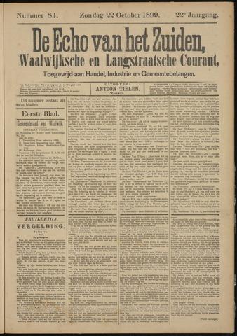 Echo van het Zuiden 1899-10-22