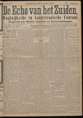 Echo van het Zuiden 1914-01-22
