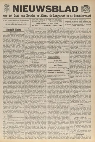 Nieuwsblad het land van Heusden en Altena de Langstraat en de Bommelerwaard 1948-08-19