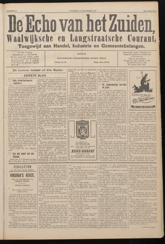 Echo van het Zuiden 1937-11-27