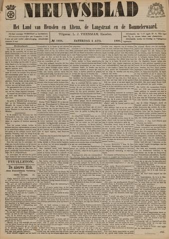 Nieuwsblad het land van Heusden en Altena de Langstraat en de Bommelerwaard 1900-08-04