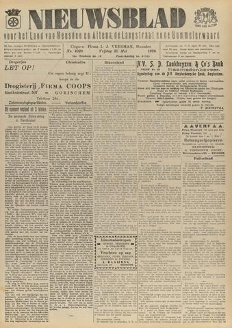 Nieuwsblad het land van Heusden en Altena de Langstraat en de Bommelerwaard 1929-05-31
