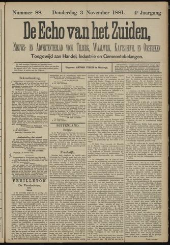 Echo van het Zuiden 1881-11-03
