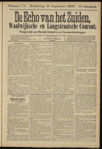 Echo van het Zuiden 1890-09-18