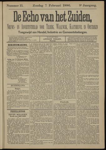 Echo van het Zuiden 1886-02-07