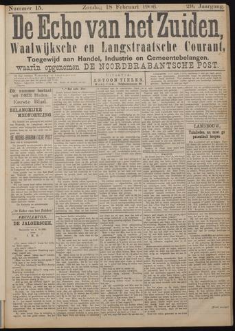 Echo van het Zuiden 1906-02-18
