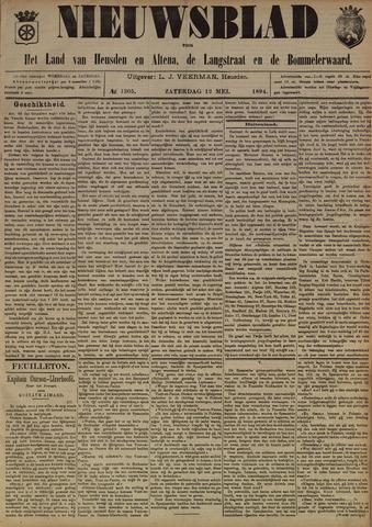 Nieuwsblad het land van Heusden en Altena de Langstraat en de Bommelerwaard 1894-05-12