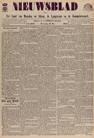 Nieuwsblad het land van Heusden en Altena de Langstraat en de Bommelerwaard 1910-05-25