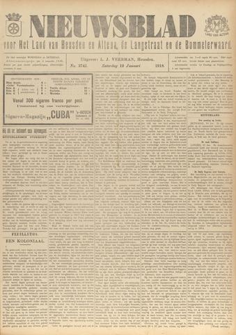 Nieuwsblad het land van Heusden en Altena de Langstraat en de Bommelerwaard 1918-01-19