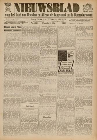 Nieuwsblad het land van Heusden en Altena de Langstraat en de Bommelerwaard 1936-05-06