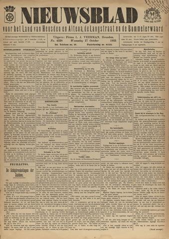 Nieuwsblad het land van Heusden en Altena de Langstraat en de Bommelerwaard 1923-10-17