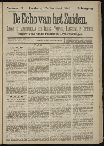 Echo van het Zuiden 1884-02-28
