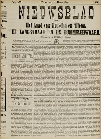 Nieuwsblad het land van Heusden en Altena de Langstraat en de Bommelerwaard 1883-12-08