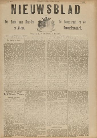 Nieuwsblad het land van Heusden en Altena de Langstraat en de Bommelerwaard 1888-11-24