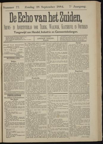 Echo van het Zuiden 1884-09-28