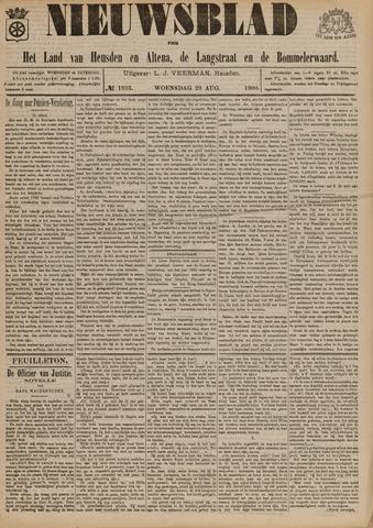 Nieuwsblad het land van Heusden en Altena de Langstraat en de Bommelerwaard 1900-08-29