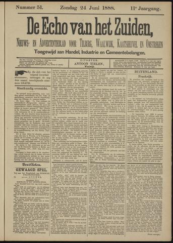 Echo van het Zuiden 1888-06-24