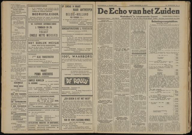 Echo van het Zuiden 1948-03-11