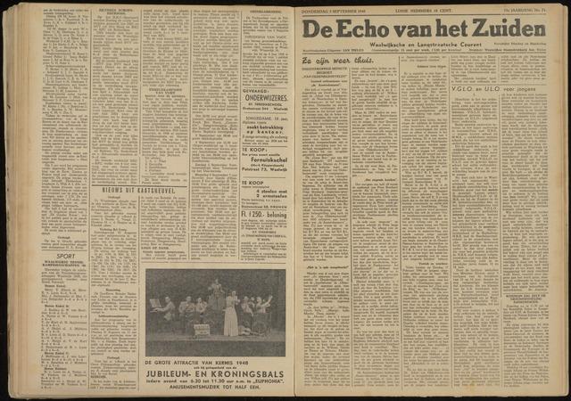 Echo van het Zuiden 1948-09-02