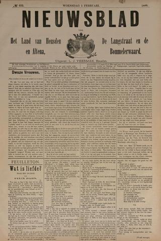 Nieuwsblad het land van Heusden en Altena de Langstraat en de Bommelerwaard 1888-02-01