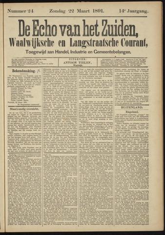Echo van het Zuiden 1891-03-22