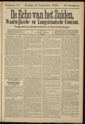 Echo van het Zuiden 1890-09-21