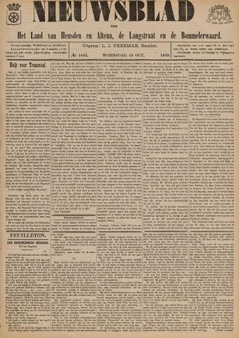 Nieuwsblad het land van Heusden en Altena de Langstraat en de Bommelerwaard 1899-10-18