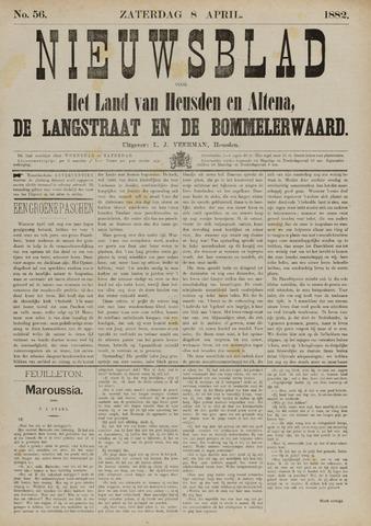 Nieuwsblad het land van Heusden en Altena de Langstraat en de Bommelerwaard 1882-04-08