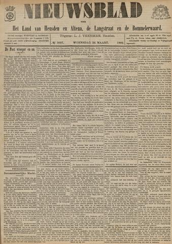 Nieuwsblad het land van Heusden en Altena de Langstraat en de Bommelerwaard 1902-03-26