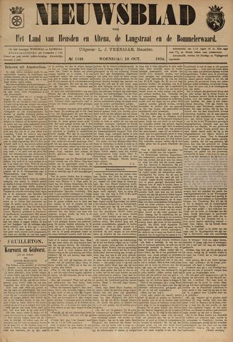 Nieuwsblad het land van Heusden en Altena de Langstraat en de Bommelerwaard 1894-10-10