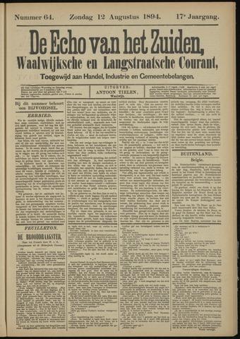 Echo van het Zuiden 1894-08-12