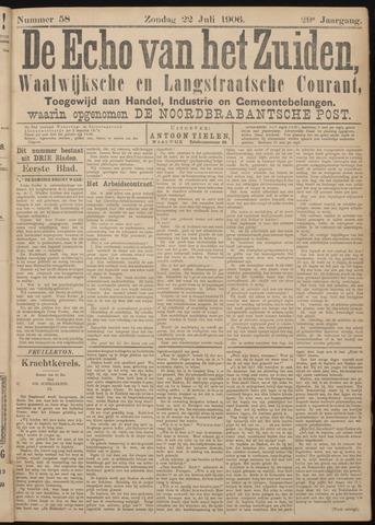 Echo van het Zuiden 1906-07-22
