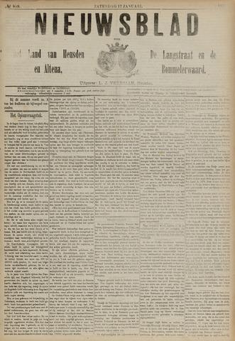 Nieuwsblad het land van Heusden en Altena de Langstraat en de Bommelerwaard 1891-01-17