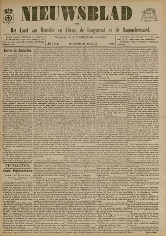 Nieuwsblad het land van Heusden en Altena de Langstraat en de Bommelerwaard 1899-07-12
