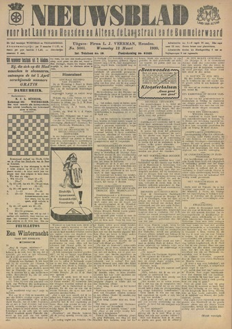Nieuwsblad het land van Heusden en Altena de Langstraat en de Bommelerwaard 1930-03-12