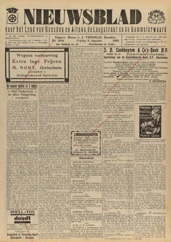 Nieuwsblad het land van Heusden en Altena de Langstraat en de Bommelerwaard 1930-08-08