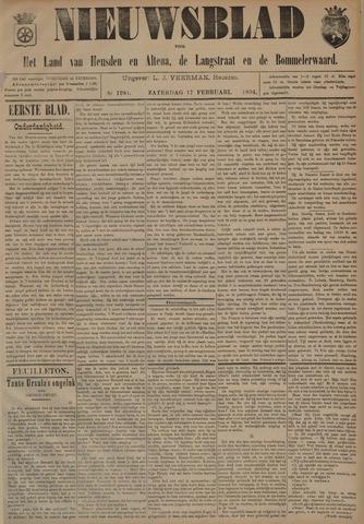 Nieuwsblad het land van Heusden en Altena de Langstraat en de Bommelerwaard 1894-02-17