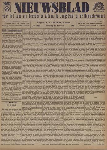 Nieuwsblad het land van Heusden en Altena de Langstraat en de Bommelerwaard 1917-02-17