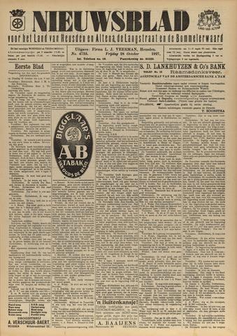 Nieuwsblad het land van Heusden en Altena de Langstraat en de Bommelerwaard 1927-10-28