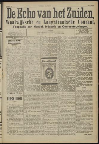 Echo van het Zuiden 1924-04-16