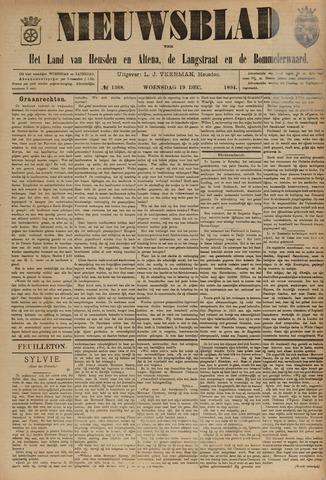 Nieuwsblad het land van Heusden en Altena de Langstraat en de Bommelerwaard 1894-12-19