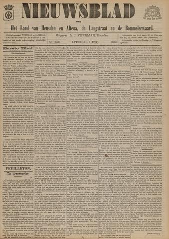Nieuwsblad het land van Heusden en Altena de Langstraat en de Bommelerwaard 1900-12-01