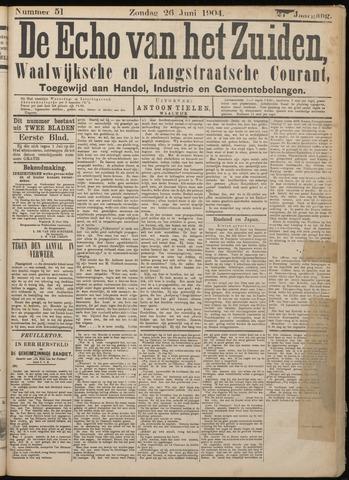 Echo van het Zuiden 1904-06-26