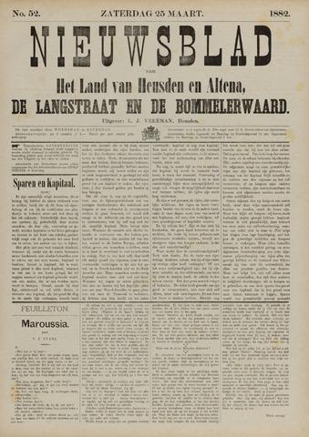 Nieuwsblad het land van Heusden en Altena de Langstraat en de Bommelerwaard 1882-03-25