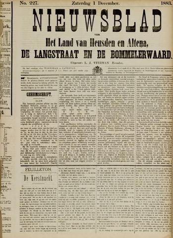 Nieuwsblad het land van Heusden en Altena de Langstraat en de Bommelerwaard 1883-12-01